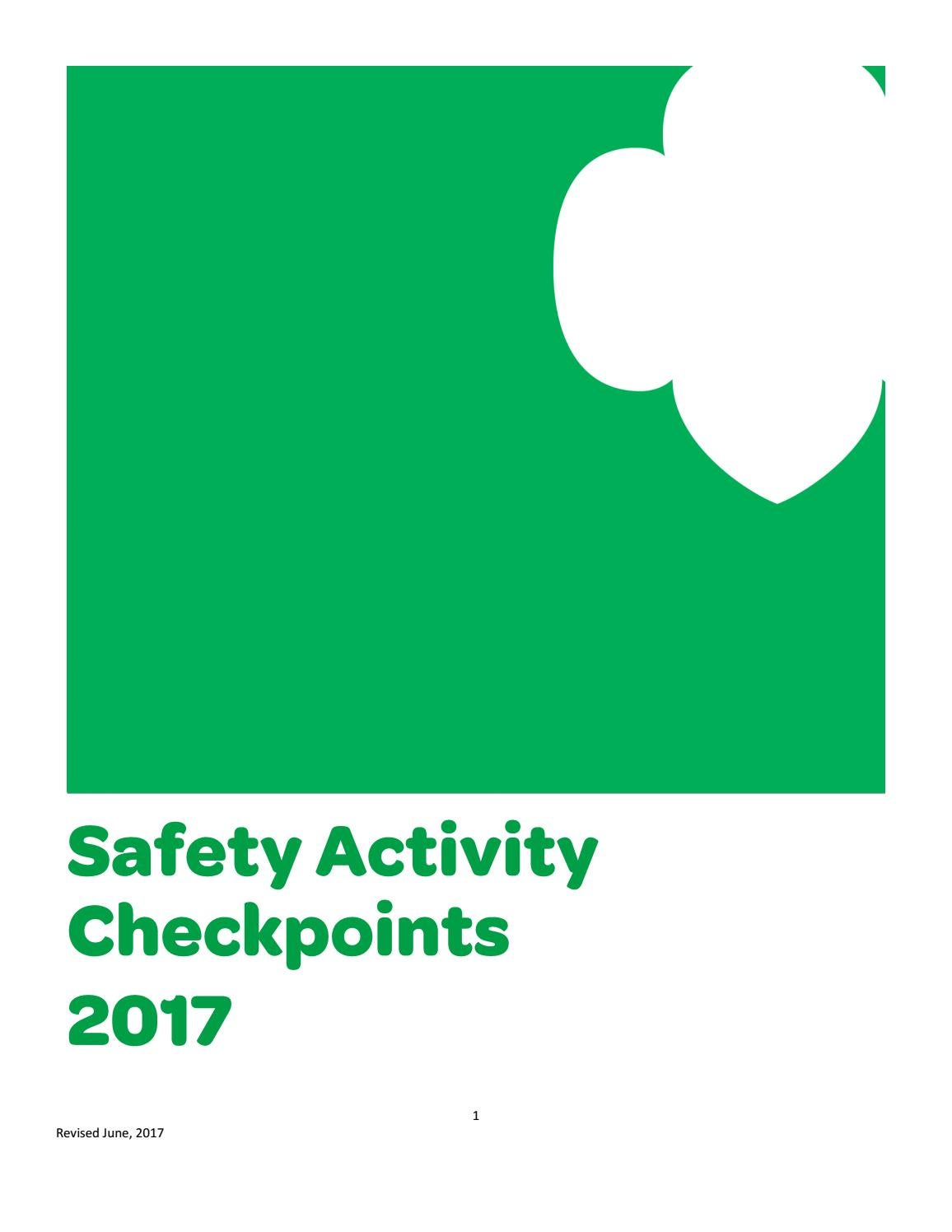 Gsofct Safety Activity Checkpoints By Girl Scouts Of Connecticut Issuu Video How To Draw A Tree Diagram Ehow Uk