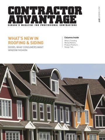Contractor Advantage July August 2017 By Jad Media Group