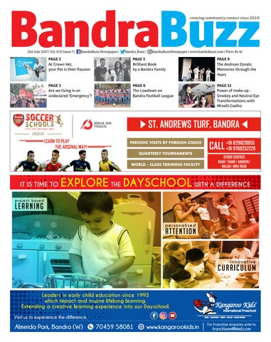 July 2017 by Bandra Buzz - issuu