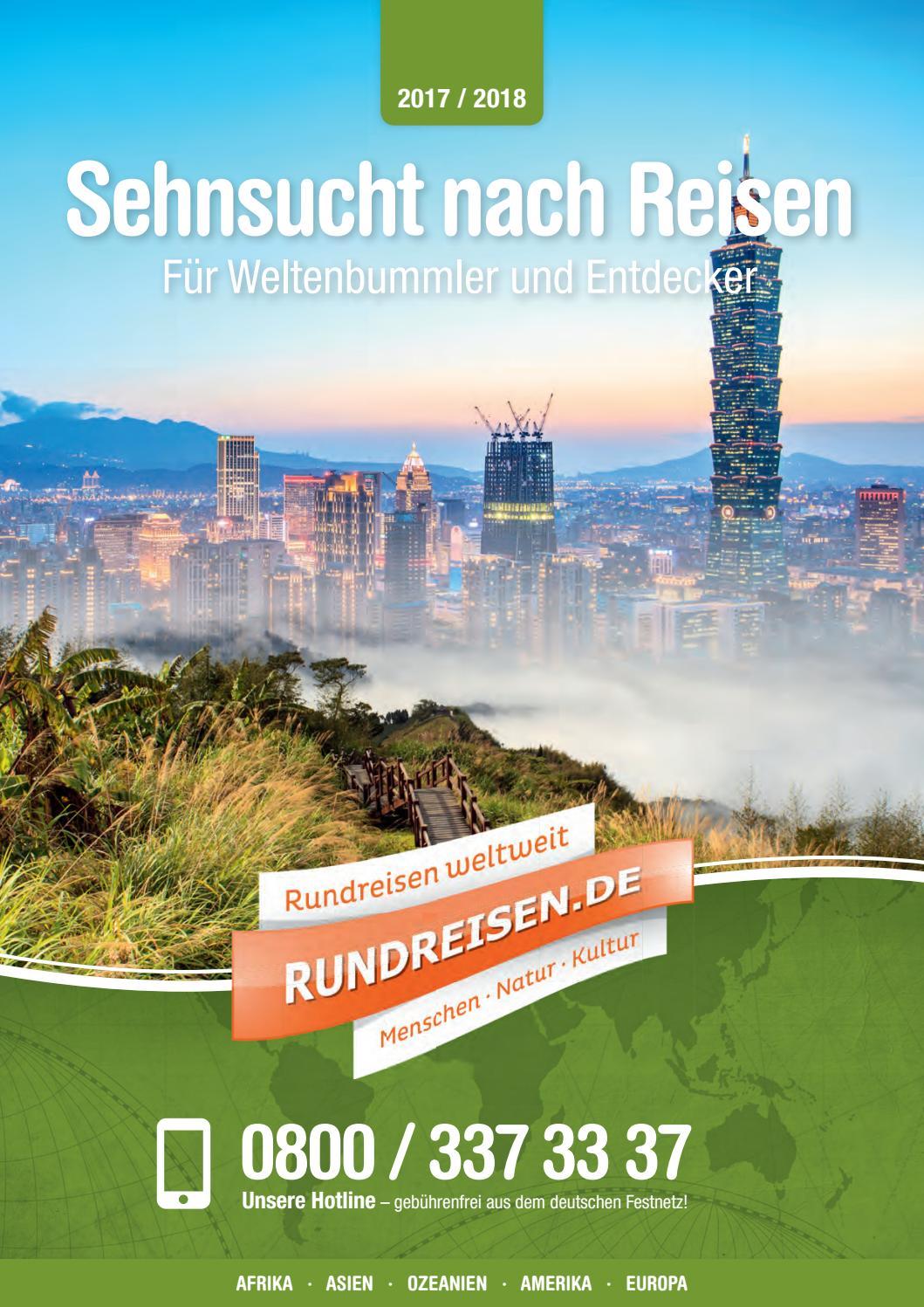 Sehnsucht nach Reisen 2017 18 by Rundreisen.de - issuu