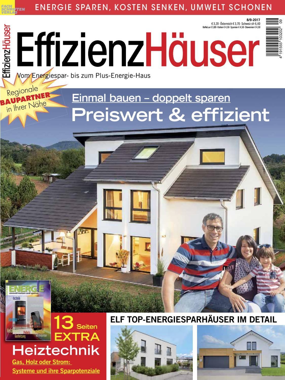 EffizienzHäuser 8/9-2017 by Fachschriften Verlag - issuu