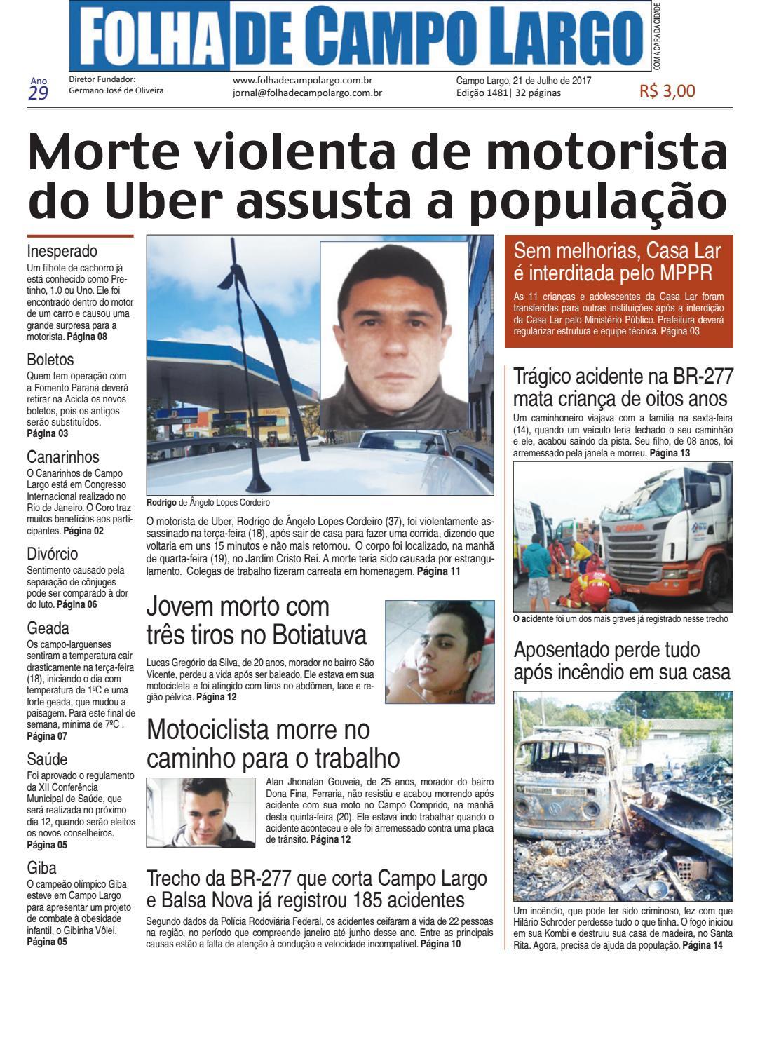 Folha de Campo Largo by Folha de Campo Largo - issuu 523a76bb2c