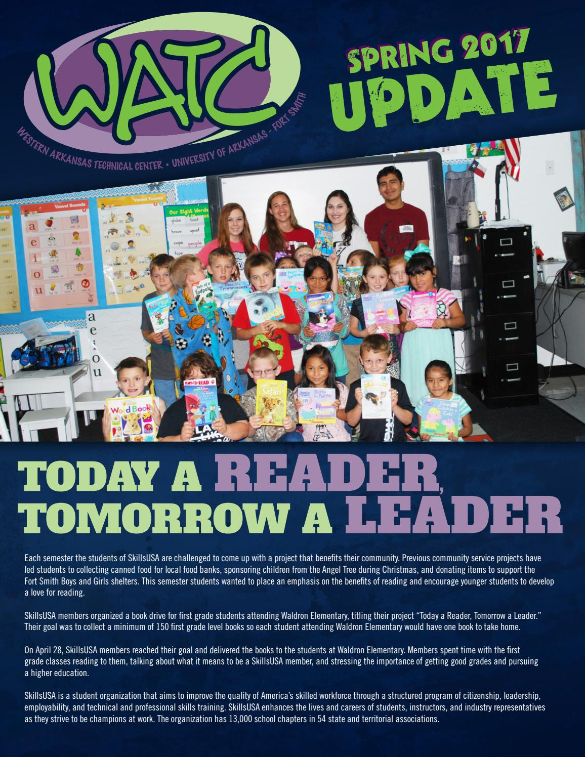 WATC Newsletter Spring 2017 update by University of ...