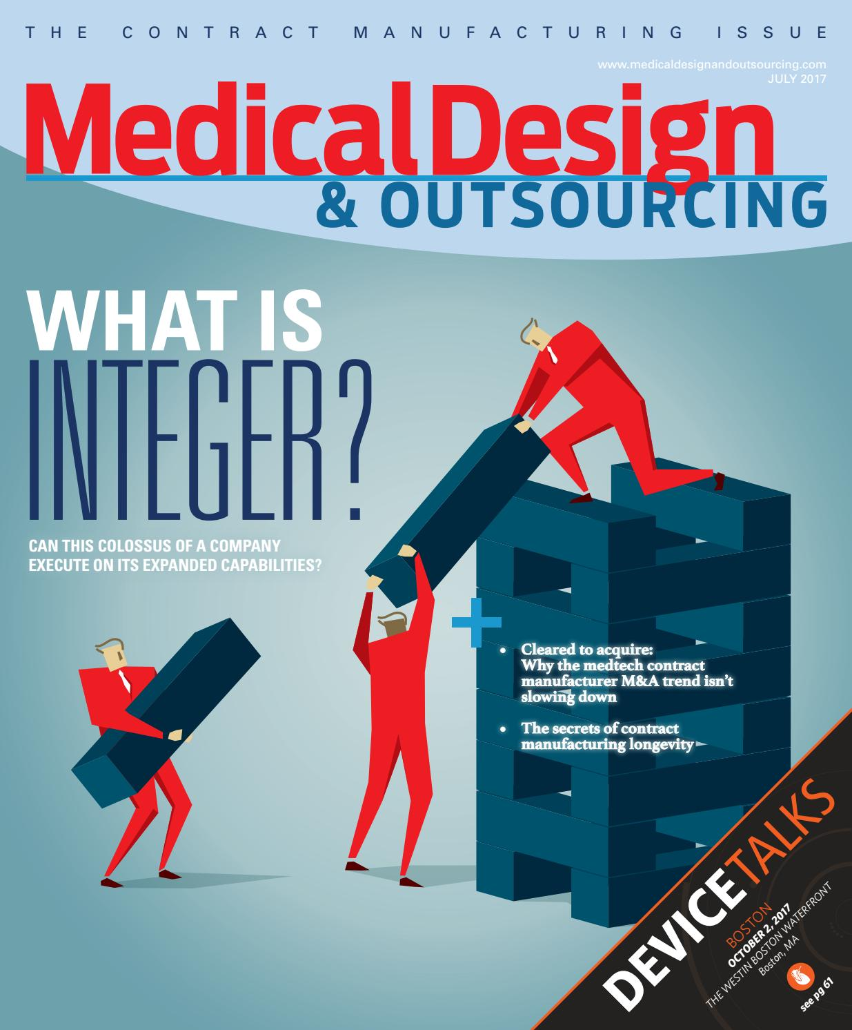 MEDICAL DESIGN & OUTSOURCING - July 2017 by WTWH Media LLC - issuu