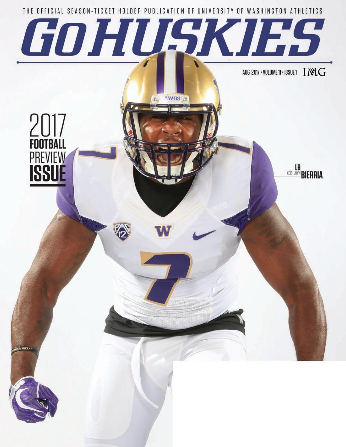 Brayden Lenius Washington Huskies Football Jersey - Purple