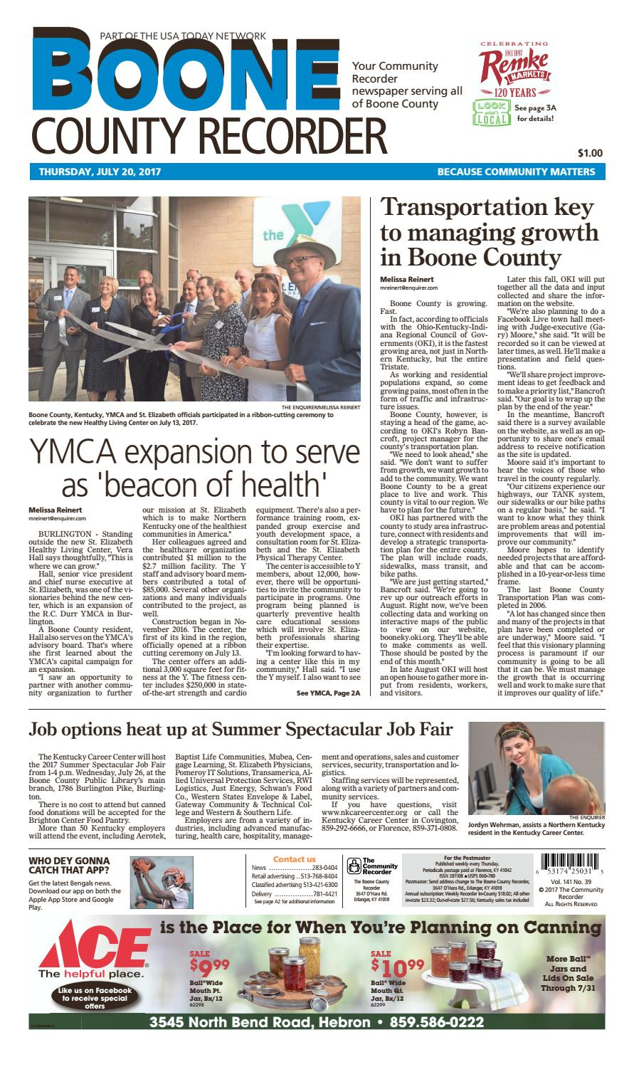 Boone county recorder 072017 by Enquirer Media issuu