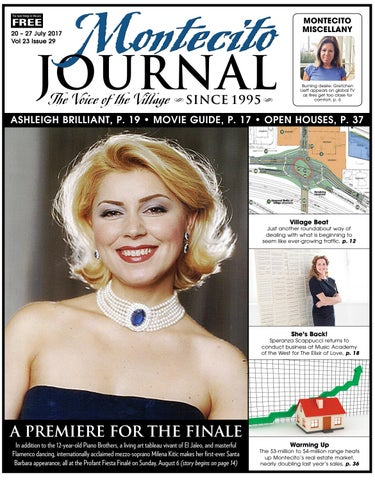 A Premiere For The Finale By Montecito Journal Issuu