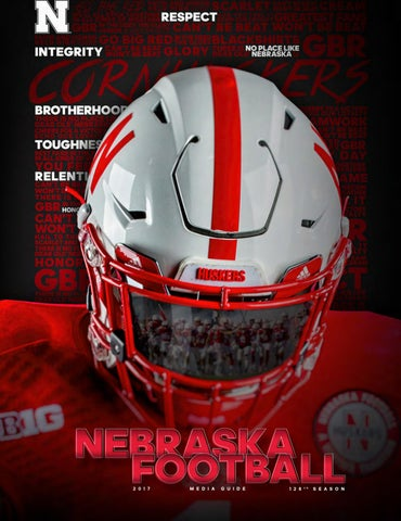 Nice 2017 Nebraska Football Media Guide by Jeremy Foote issuu  for sale