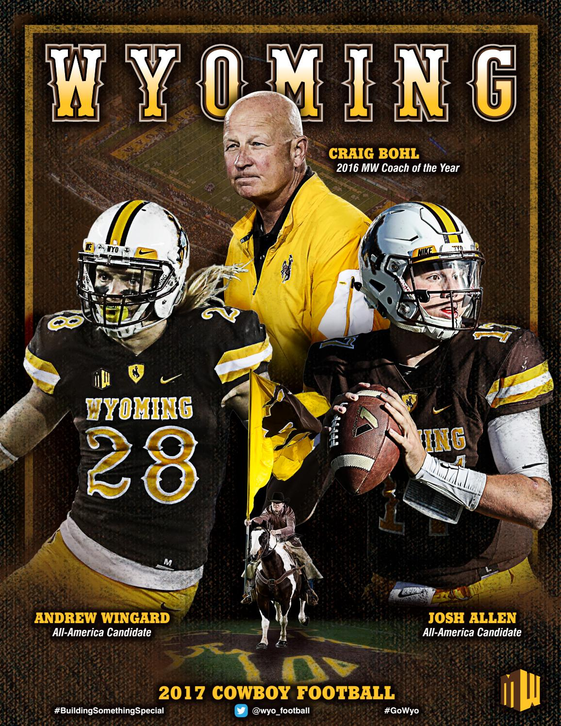7e74518b 2017 Wyoming Football Media Guide by Amil Anderson - issuu