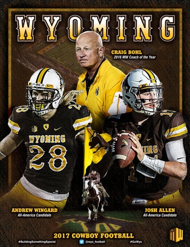 new styles c4e62 0dd88 2017 Wyoming Football Media Guide by Amil Anderson - issuu