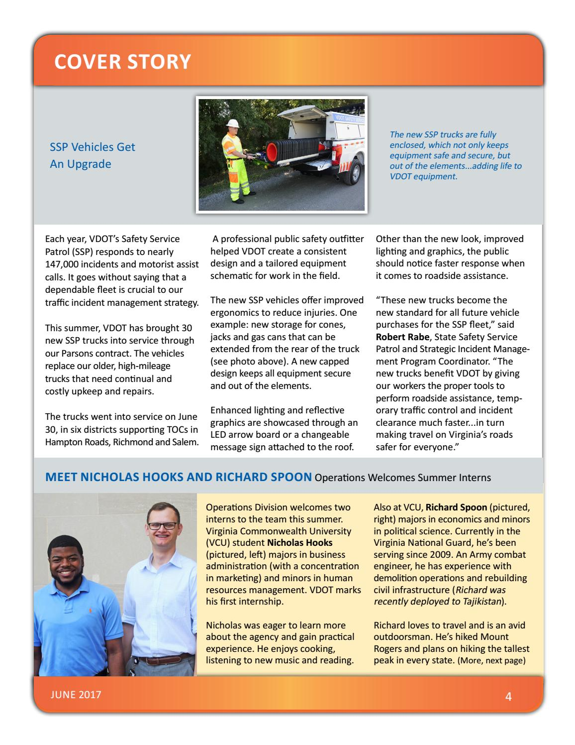 VDOT Operations Bulletin - June 2017 by VDOT Operations - issuu