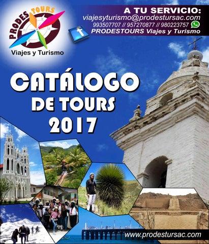 eecfcd18f8c38 CATALOGO DE TOURS - PRODESTOURS Viajes y Turismo by Pro Desarrollo ...