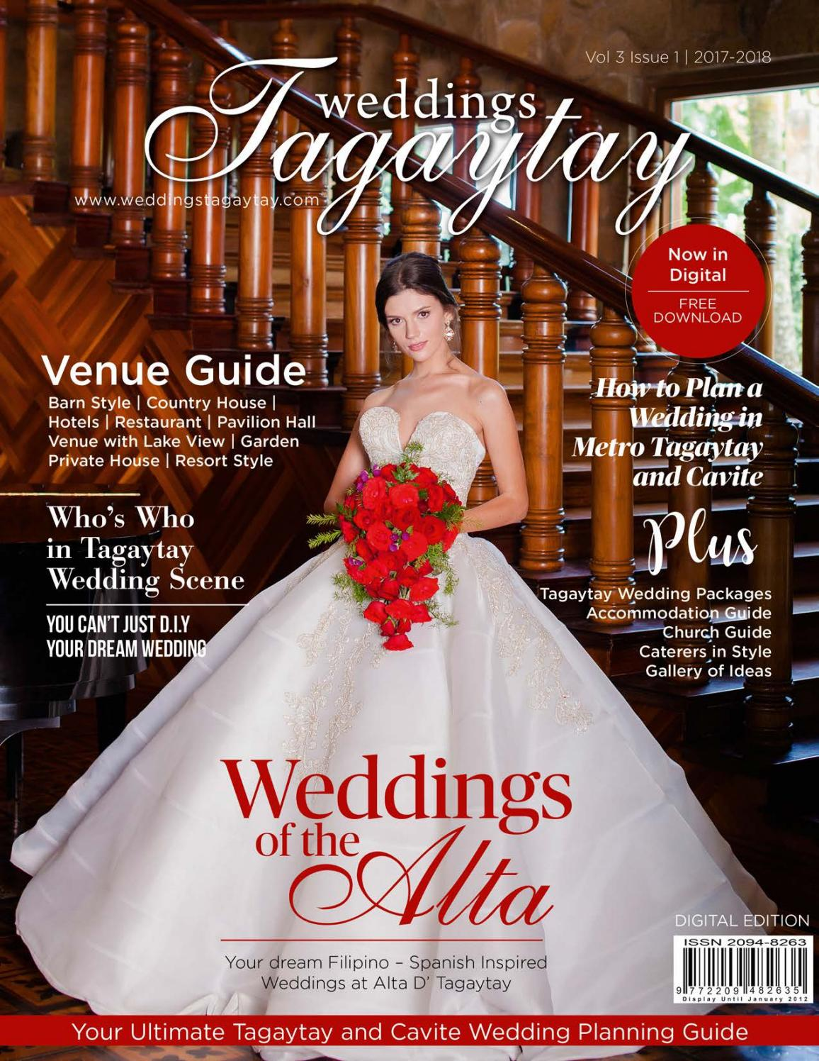 Weddings Tatay Vol 3 Issue 1 July