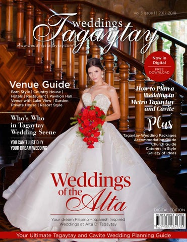 28dc2b106 The Publisherâ  x20AC   x2122 s Letter It took us a while to be back. But  it is worth the wait. Welcome to the Digital Edition of Weddings Tagaytay.