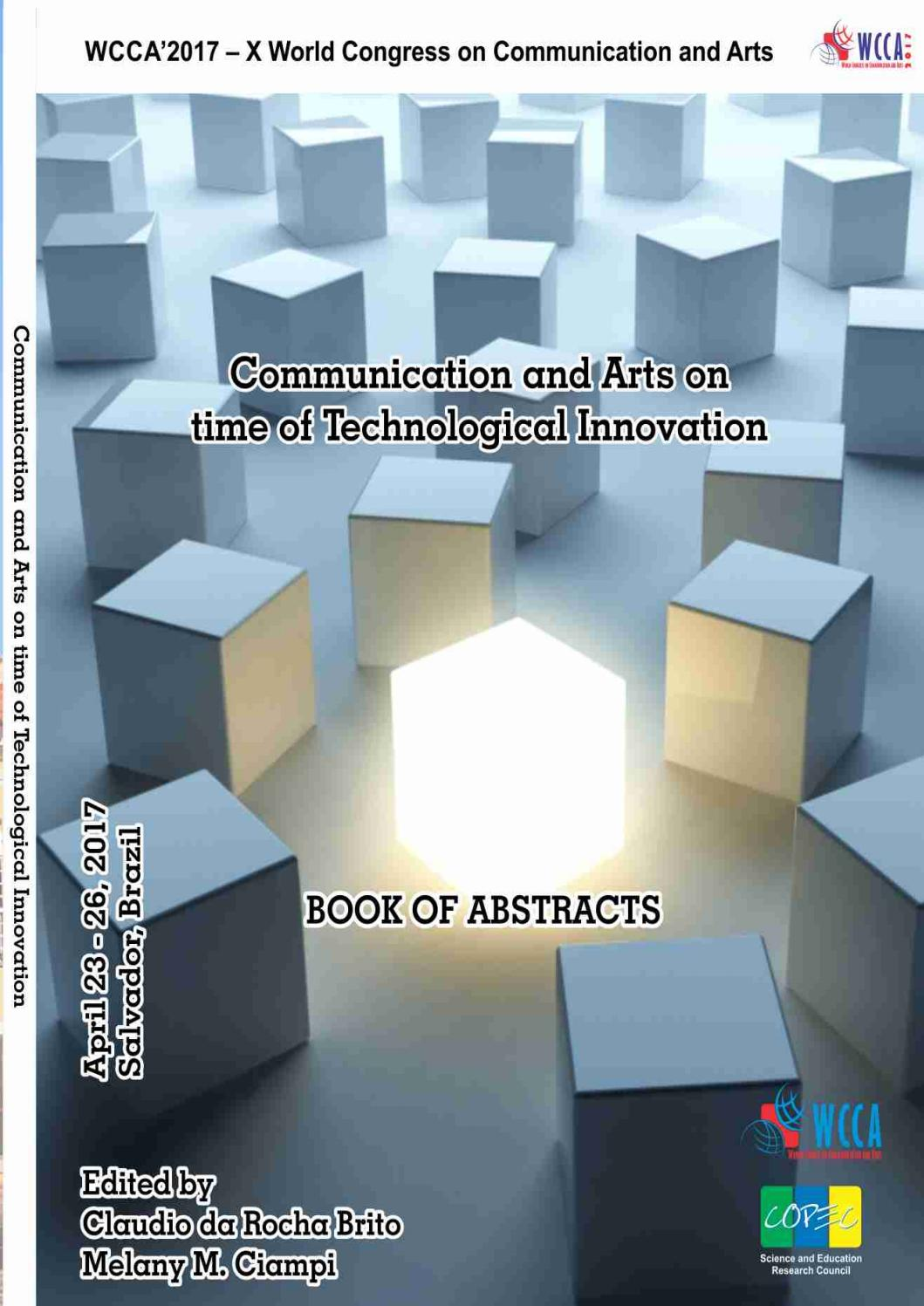 Book Of Abstract Of Wcca 2017 By Science And Education Research  # Muebles Derfan Neiva