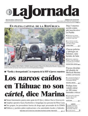 La Jornada 07 22 2017 By La Jornada Issuu