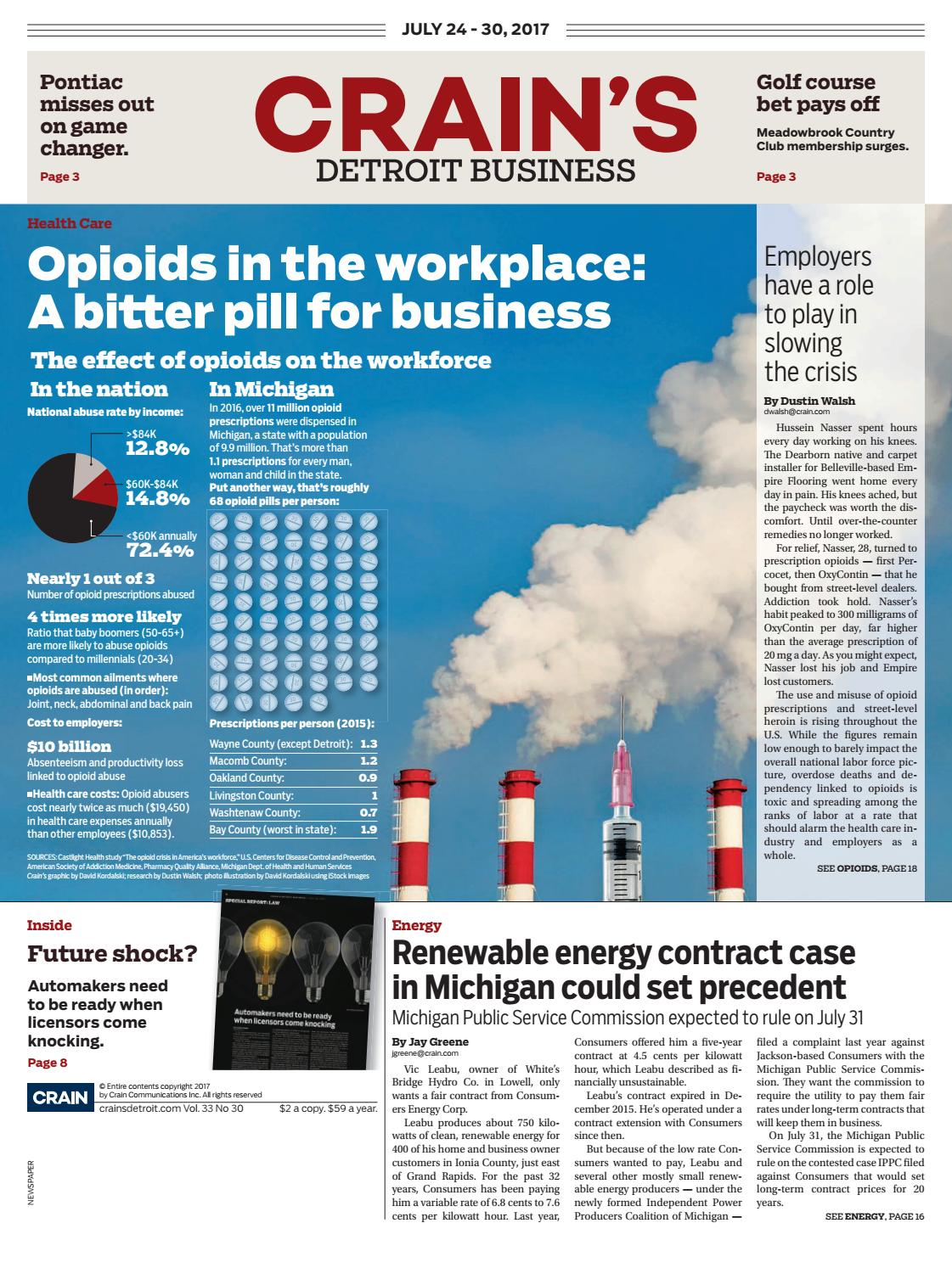 af1405c5972 Crain's Detroit Business, July 24, 2017 issue by Crain's Detroit Business -  issuu