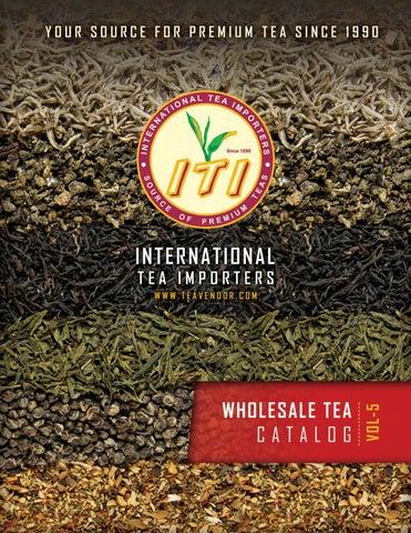 ITI Wholesale Tea Catalog Vol-5 by International Tea