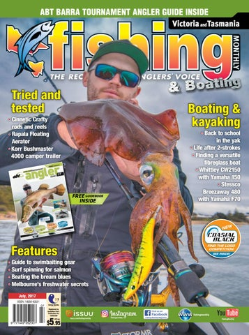 3bc54789d1 Vic Tas Fishing Monthly July 2017 by Fishing Monthly - issuu