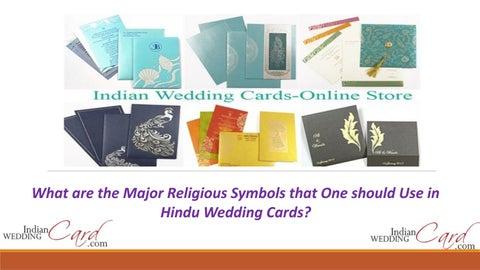 Most Popular Hindu Wedding Cards Religious Symbols By Indian Wedding