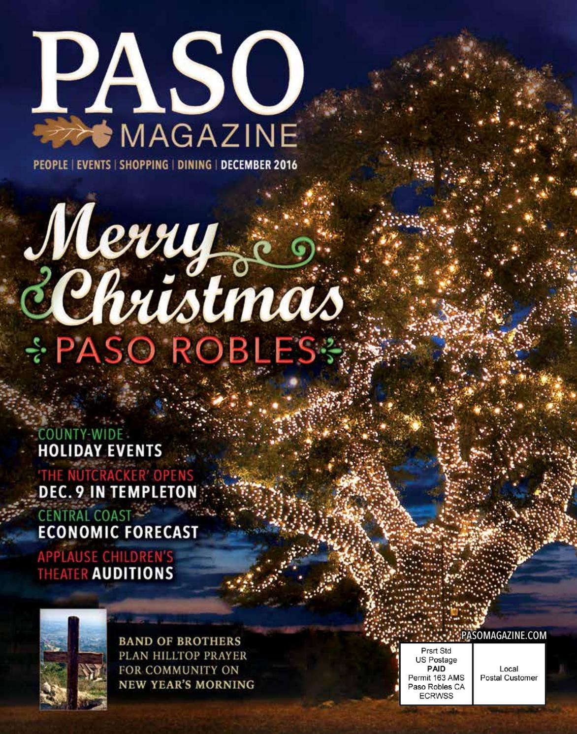 2016 december paso magazine by Nicholas Mattson - issuu