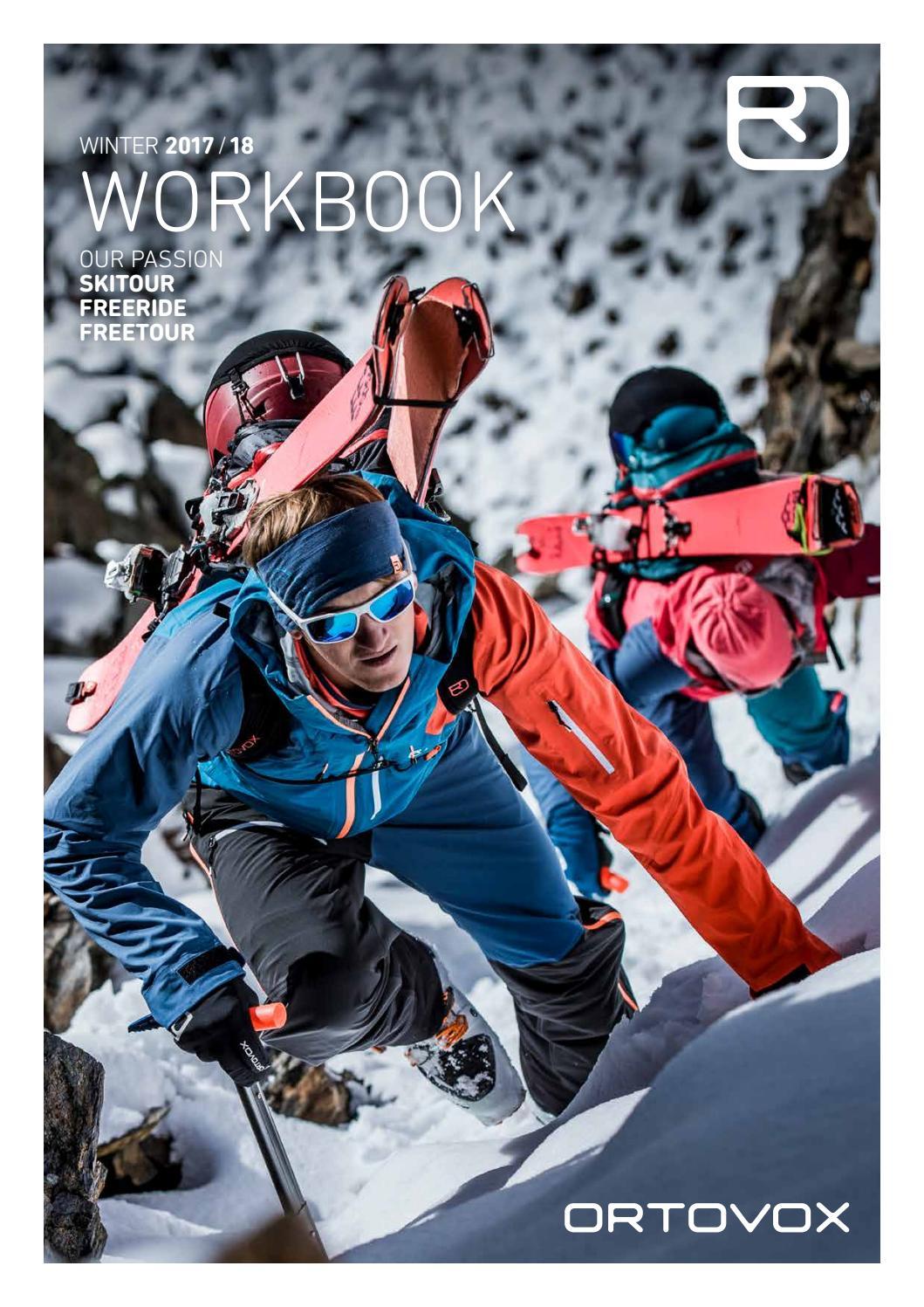 Workbook Winter 2017 18 Us By Ortovox Issuu Hoc Premium Bluedark Full Set Suit