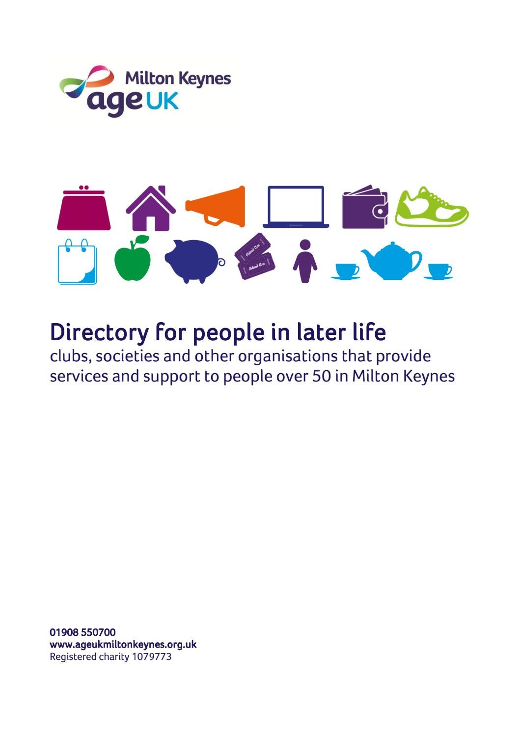 Directory for people in later life 2017 by Age UK Milton
