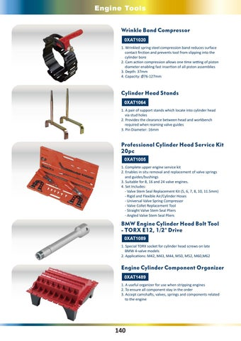 BMW 4-Valve M52//M60//M62 E12 Torx Engine Cylinder Head Bolt Headbolt Socket Tool