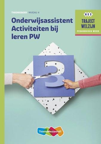 Bekend Onderwijsassistent activiteiten bij leren PW theorieboek by &XN29