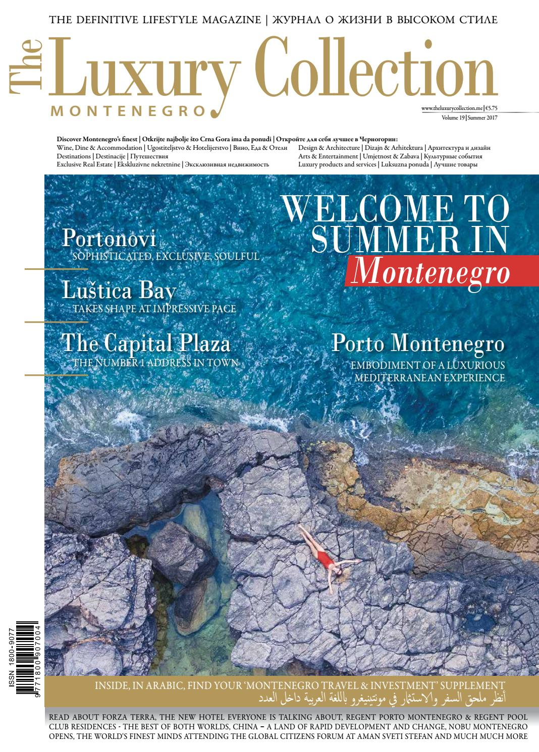 The Luxury Collection Montenegro Vol 19 By The Collection