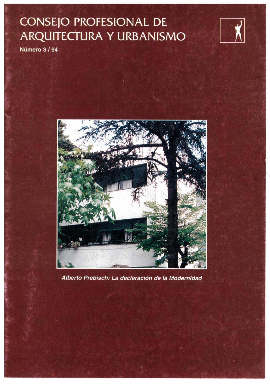 Consejo Profesional De Arquitectura Y Urbanismo No 3 Oct  # Muebles Fourcade Limitada