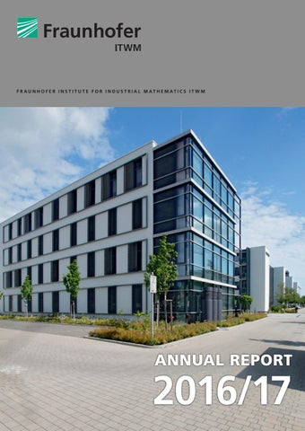 Annual Report 201617 Fraunhofer Institute For Industrial