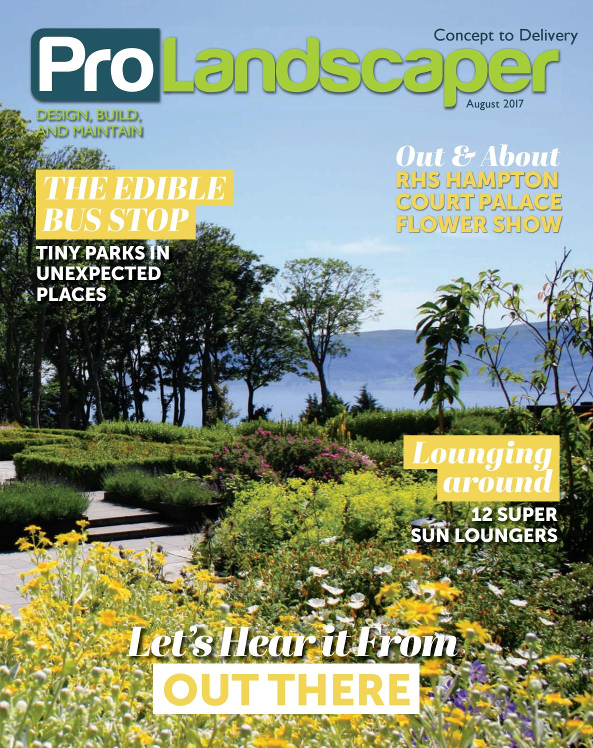 Pro Landscaper August 2017 By Eljays44 Issuu