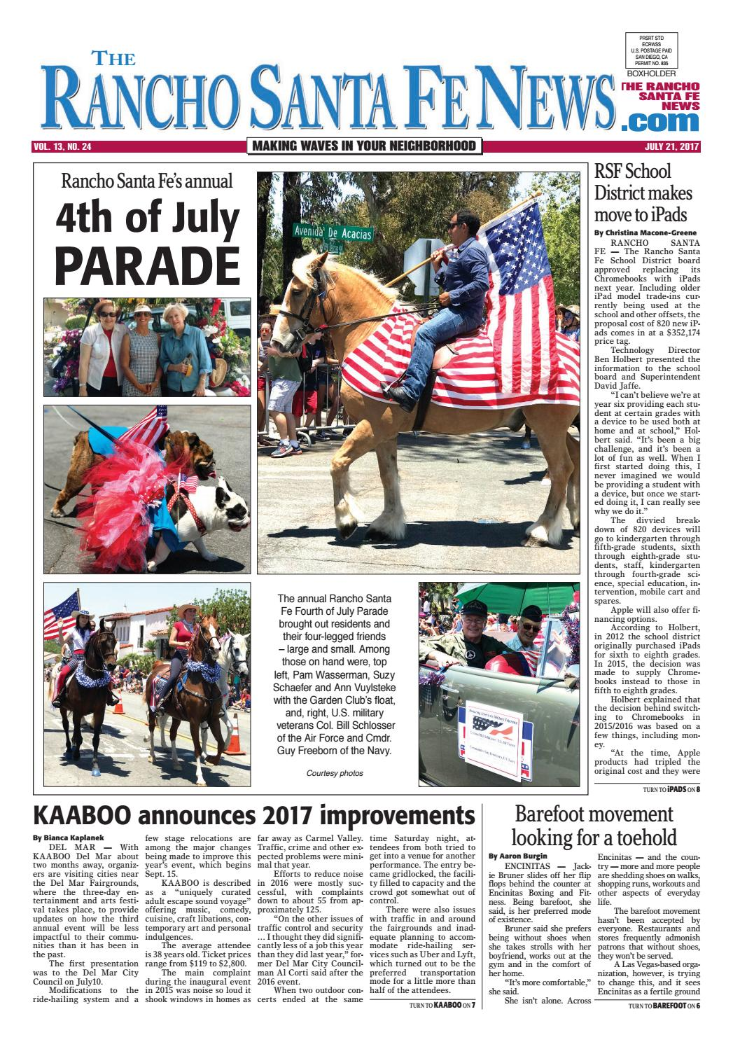 Rancho santa fe news july 21 2017 by coast news group issuu fandeluxe Image collections