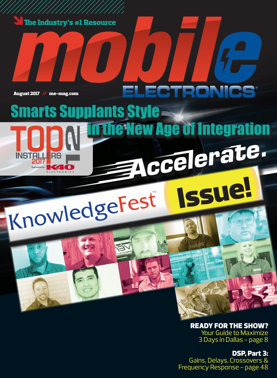Mobile Electronics Magazine August 2017 By Issuu Circuitgreen Actual Circuit Red Linkwitzriley Crossover