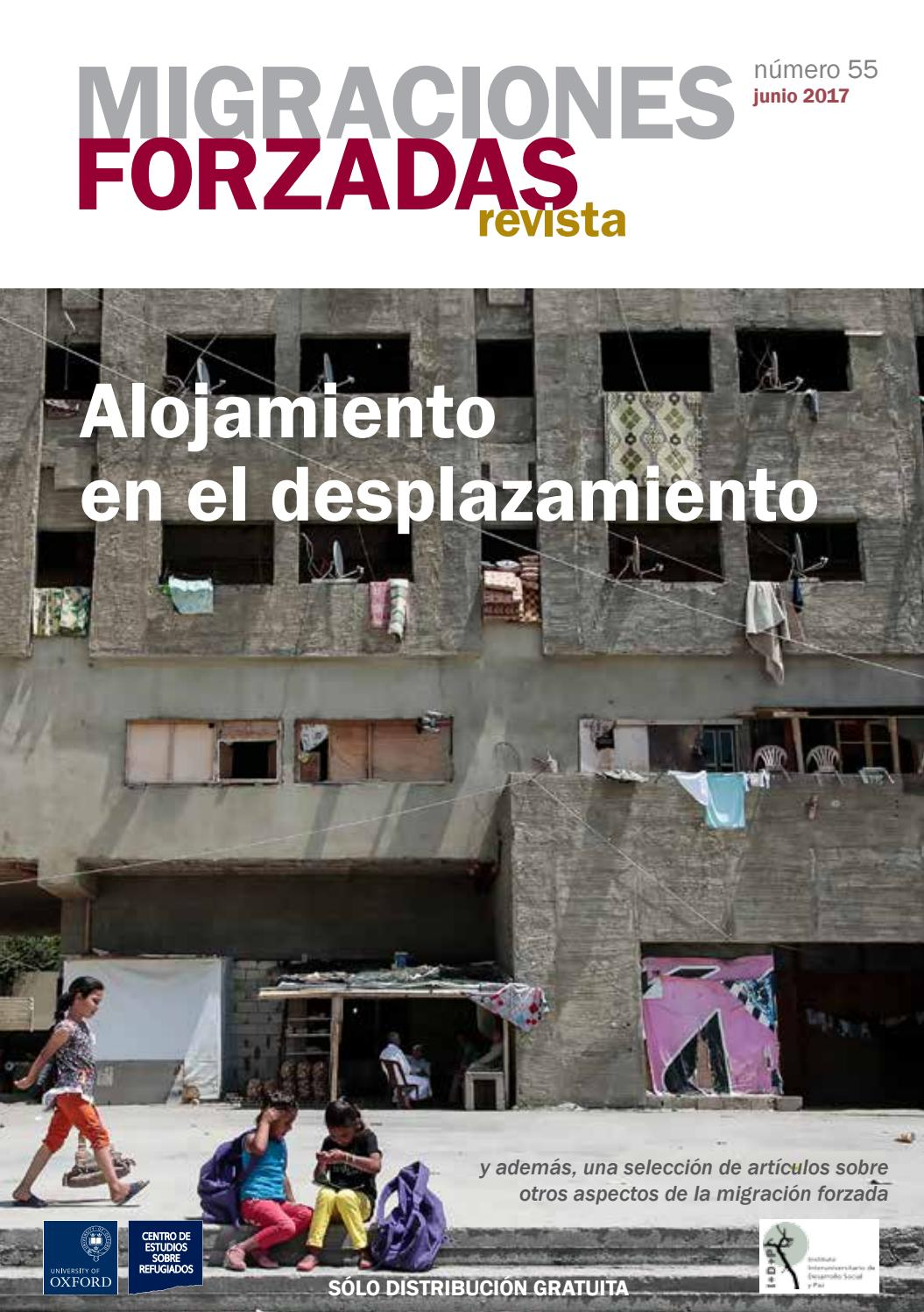 Revista Migraciones Forzadas 55 by Forced Migration Review - issuu
