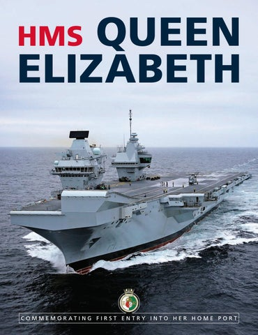 f54923ea92c9 HMS Queen Elizabeth  Commemorating First Entry into Her Home Port by ...