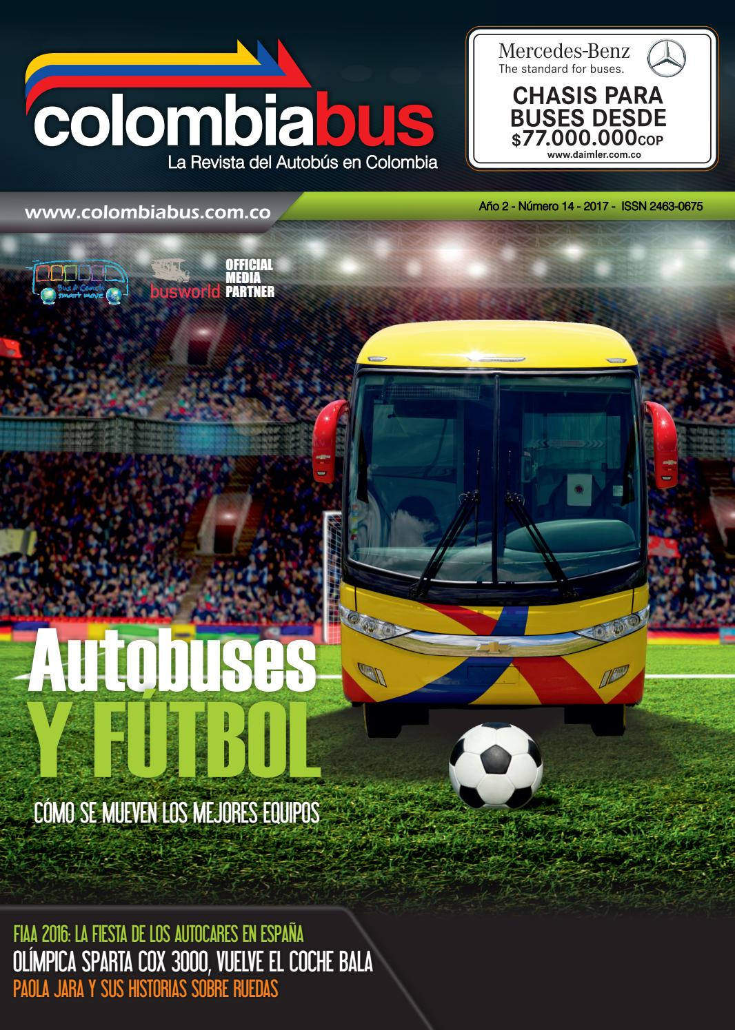 Revista Colombiabus 2017 - Ed. 14 by Colombiabus - issuu