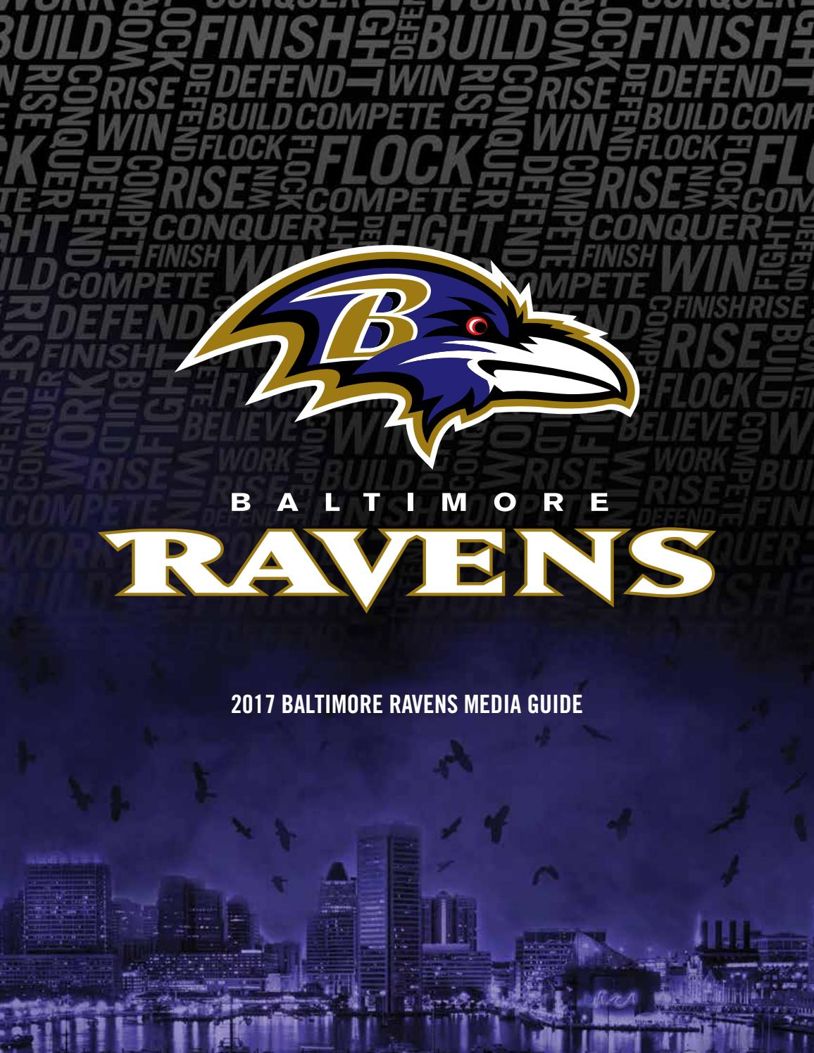 2017 Baltimore Ravens Media Guide By Baltimore Ravens Issuu