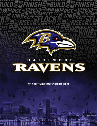 2017 Baltimore Ravens Media Guide by Baltimore Ravens - issuu f421860a8