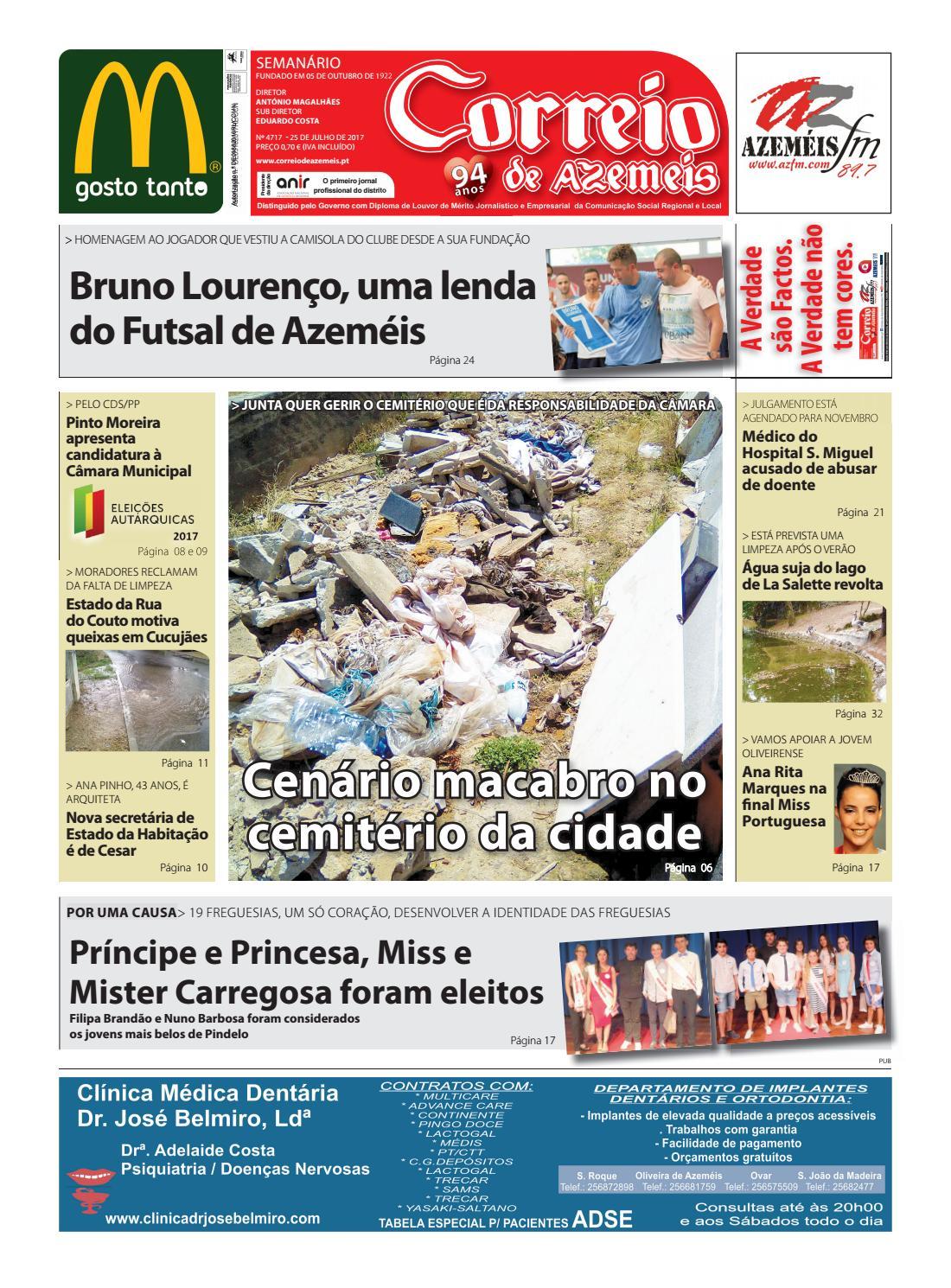 25 07 2017 by Correio de Azeméis - issuu 275f91f8efadd