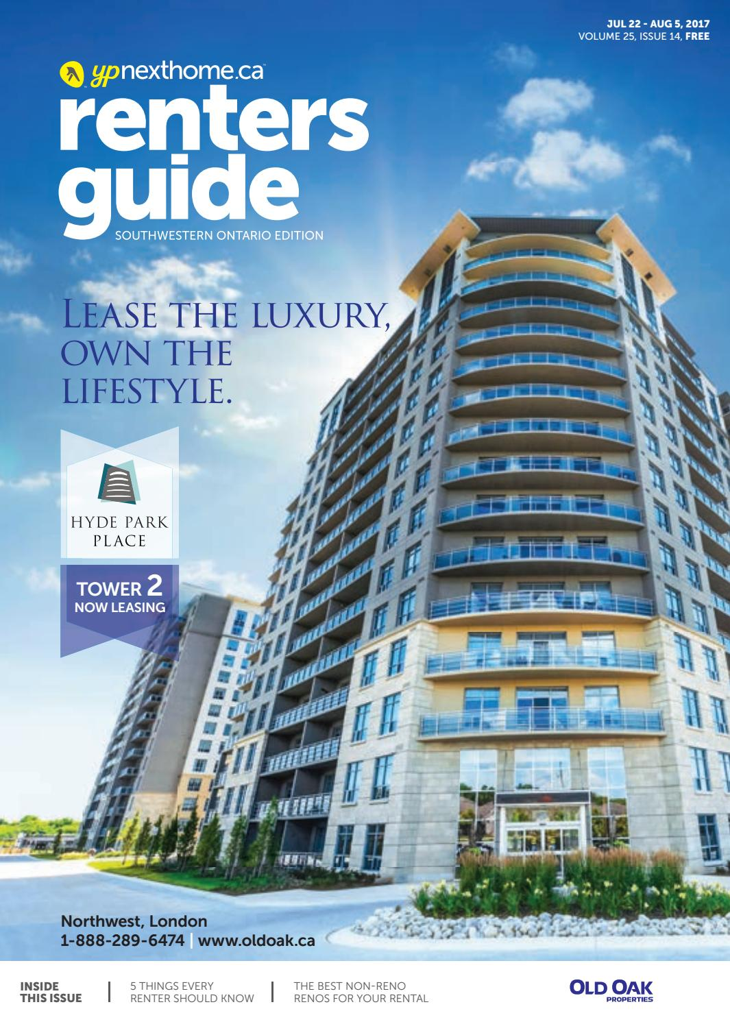 South Western Ontario Renters Guide - 22 Jul, 2017 by NextHome - issuu