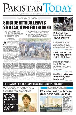 E paper pdf (25 07 2017) (khi) by Pakistan Today - issuu
