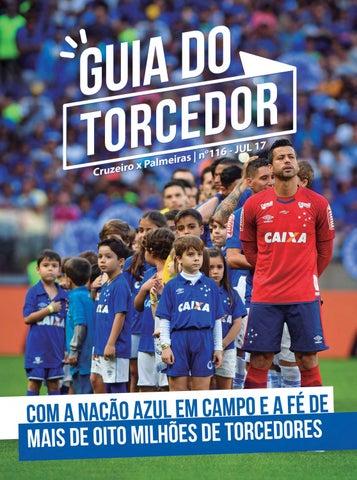 53f45b14cc Guia do Torcedor Nº 116 - Cruzeiro x Palmeiras by Cruzeiro Esporte ...