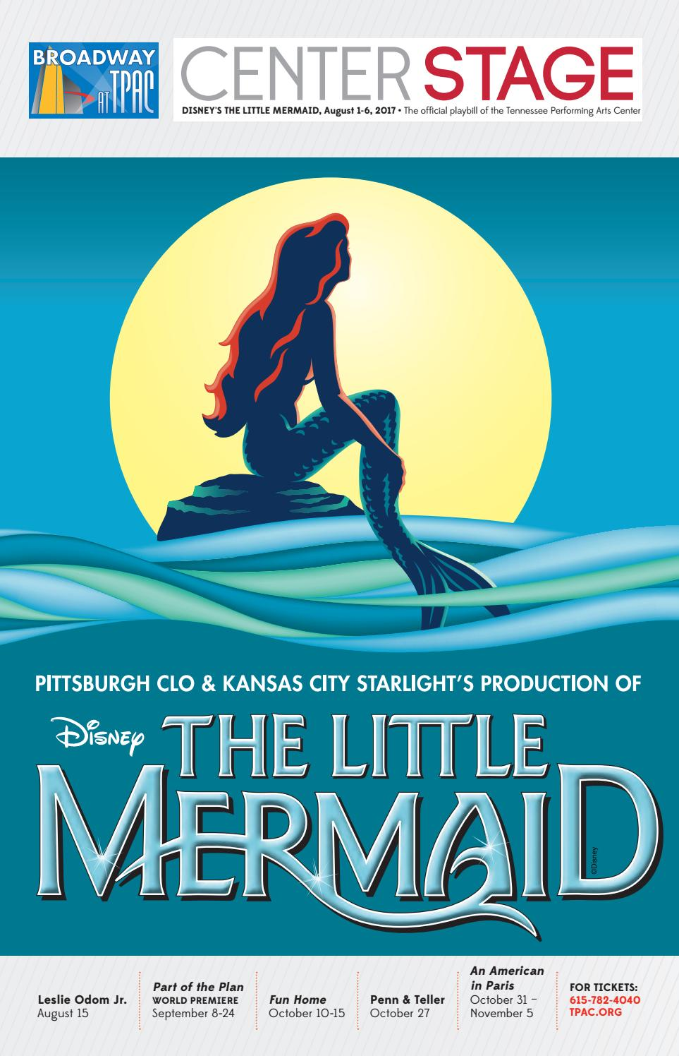 Disney's The Little Mermaid by Performing Arts Magazines of