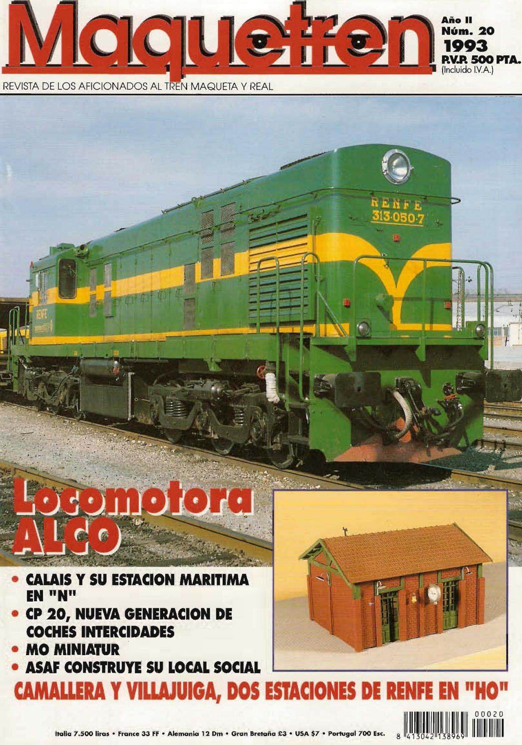 Maquetren 020 (1993) by Alco714 - issuu