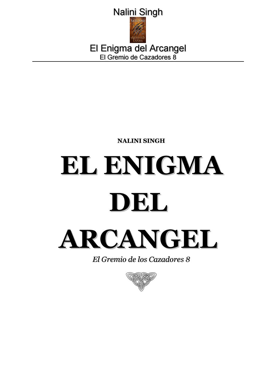 8 el enigma del arcangel by isela avila - issuu