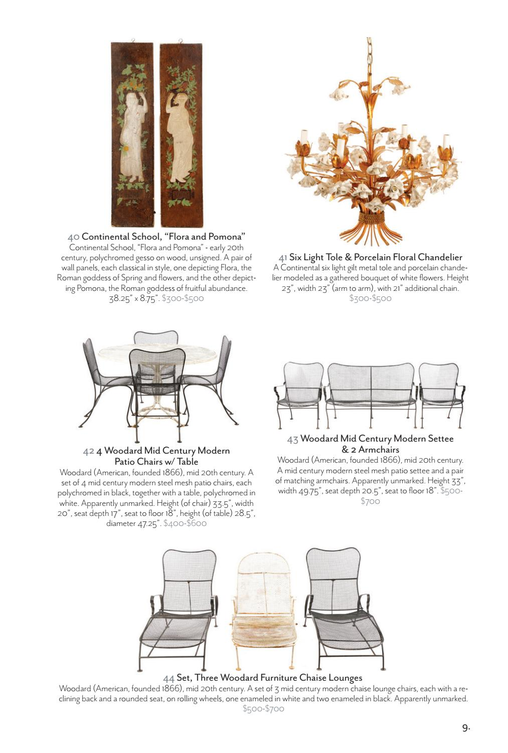 Swell Ahlers Ogletree 2017 Summer Estates Collections Auction Gmtry Best Dining Table And Chair Ideas Images Gmtryco