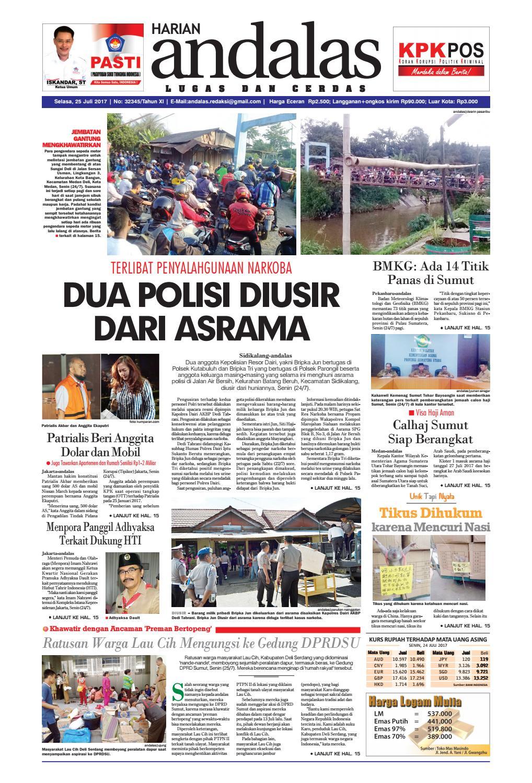 Epaper andalas edisi selasa 25 juli 2017 by media andalas - issuu 9c6be1dde3