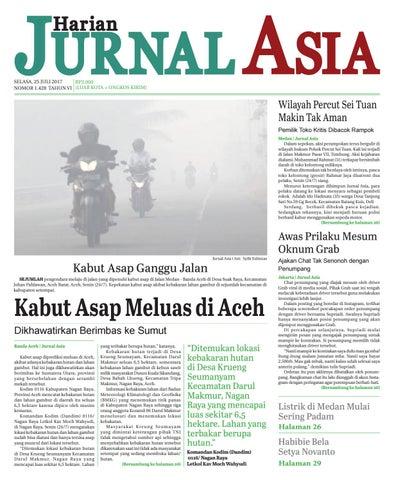 Harian Jurnal Asia Edisi Selasa, 25 Juli 2017 by Harian